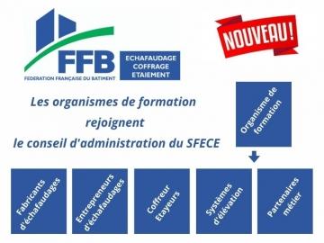 Les Organismes de Formation rejoignent le Conseil d'Administration du SFECE