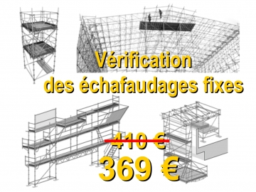 Formation Vérification des échafaudages en Région Parisienne