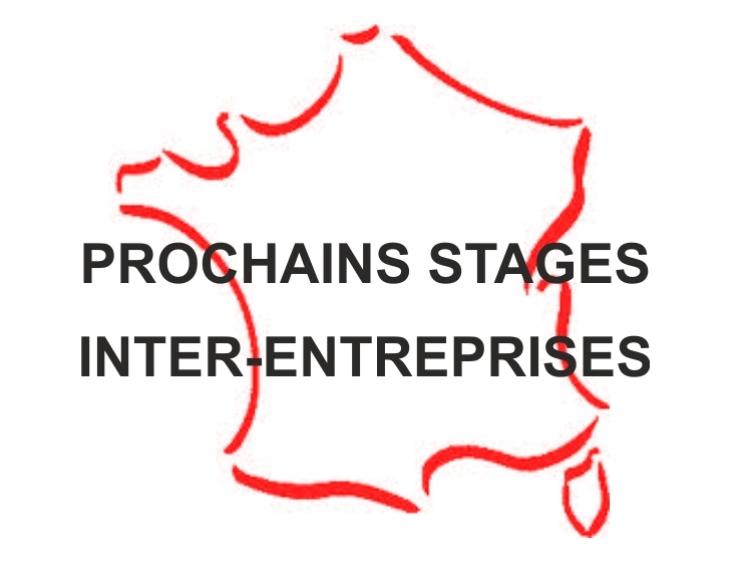 Prochains stages inter