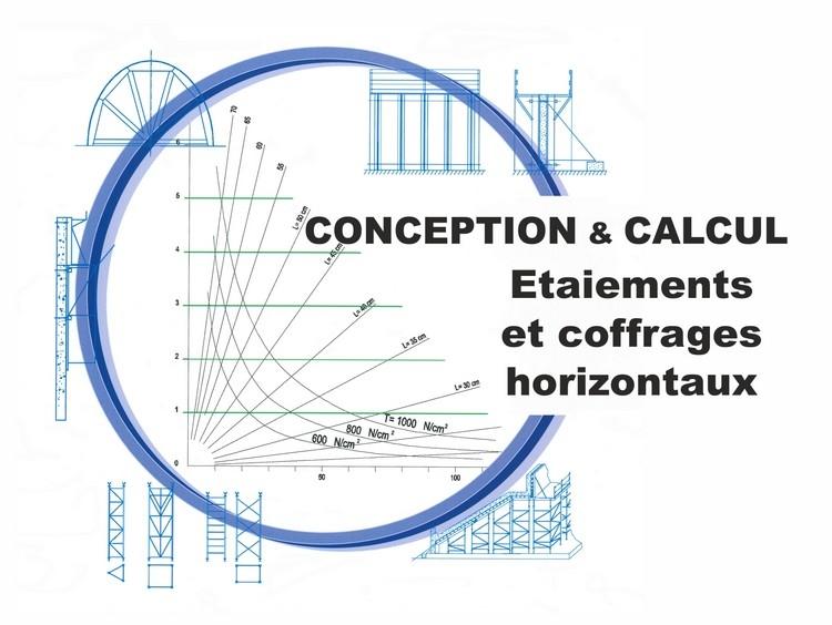 Conception et Calcul des étaiements et des coffrages horizontaux