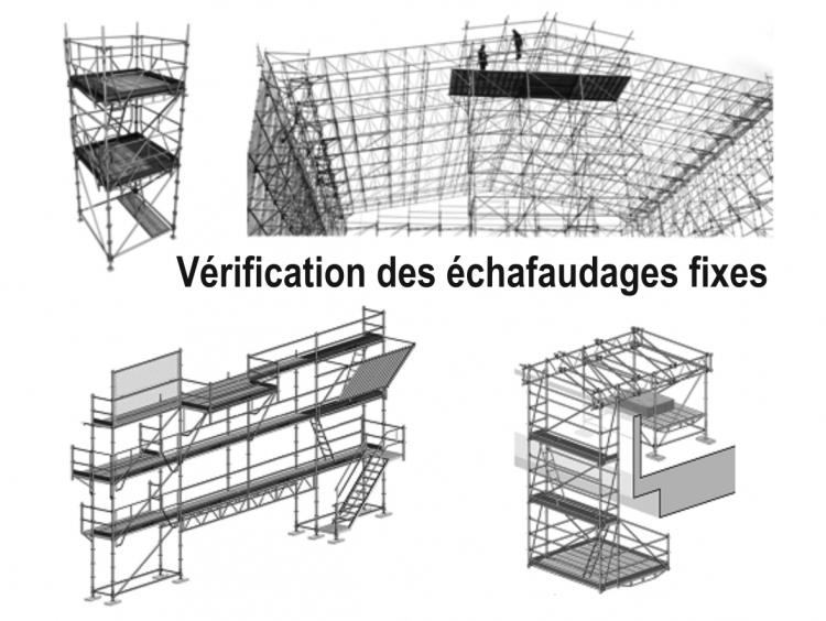 Formation vérification des échafaudages fixes